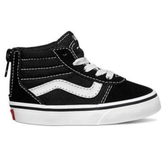 e3178e7751 Vans Ward Hi-Zip High Top Off The Wall Shoes. M 5b8aaa802beb7952e4e5e4bc